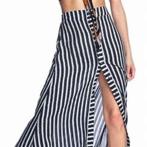 Maaji Experience Everyday Long Skirt with stripes
